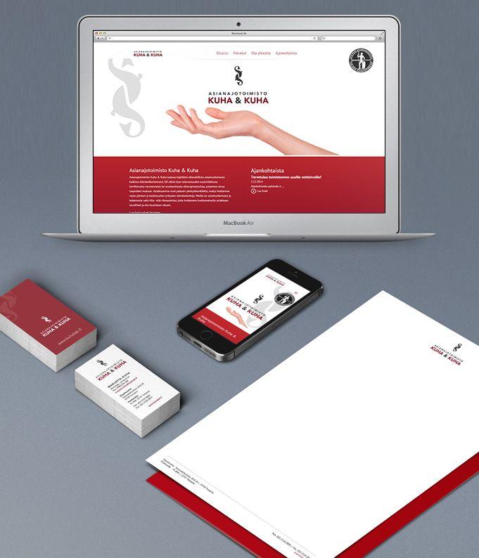 Projekti: graafinen ilme, lomakkeisto ja nettisivujen Wordpress-toteutus www.kuhalaki.fi