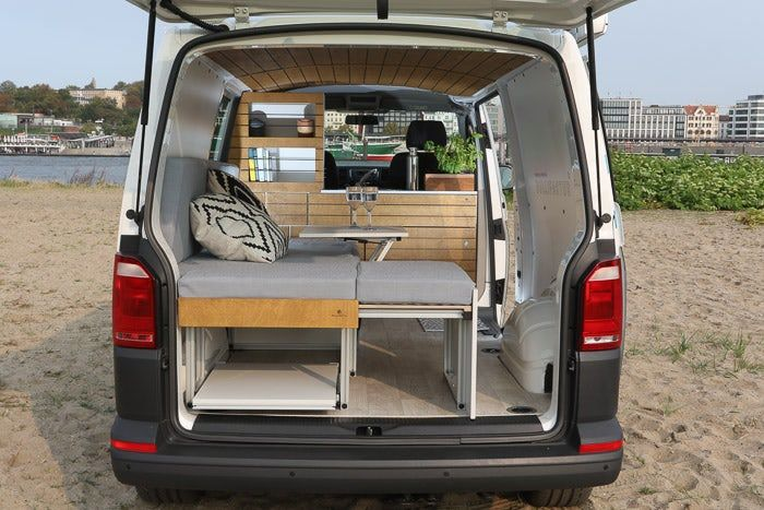 Bullifaktur S Rustic Modules Fit Together To Create Your Ultimate Vw Camper Van Amenagement Camionette Rangement Fourgon Interieur Camion