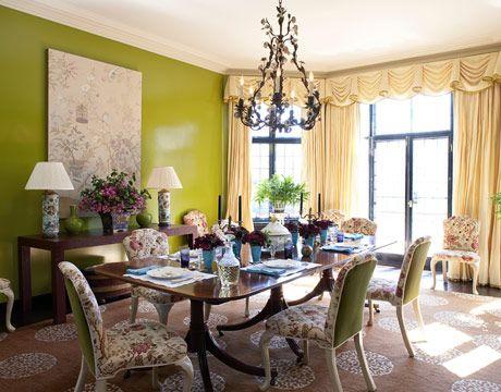 die 75 besten bilder zu chartreuse auf pinterest | grüner ... - Esszimmer Braun Grn