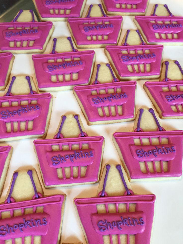 Shopkins basket cookies