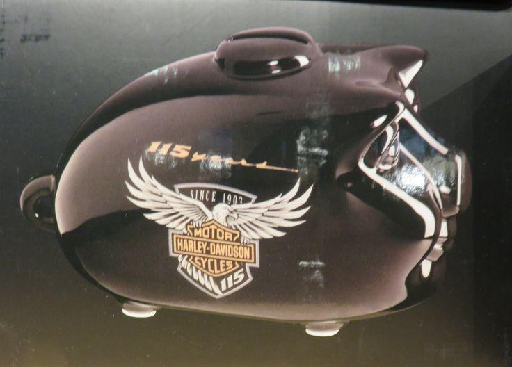 Harley-Davidson piggy bank