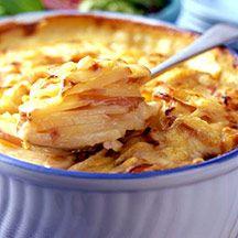 Aardappel au gratin weight watchers recept