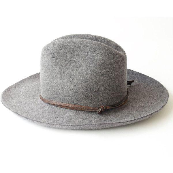 Cowboy Hat- Wool Felt Hat- Men's Hat- Women's Hat- Western Hat- Travel... (10.145 RUB) ❤ liked on Polyvore featuring men's fashion, men's accessories, men's hats, mens wool felt fedora hats, mens felt hats, mens hats and mens travel accessories