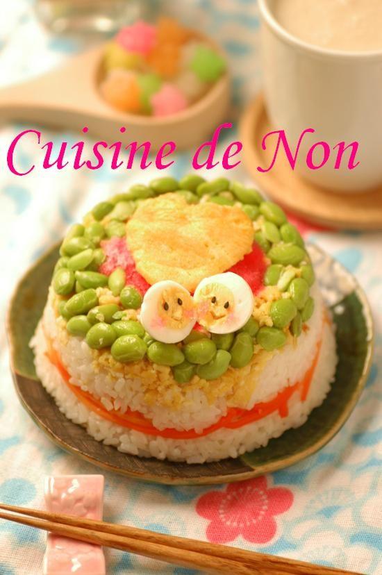 今日はひな祭り♪ 春色ひな寿司 | 美肌レシピ