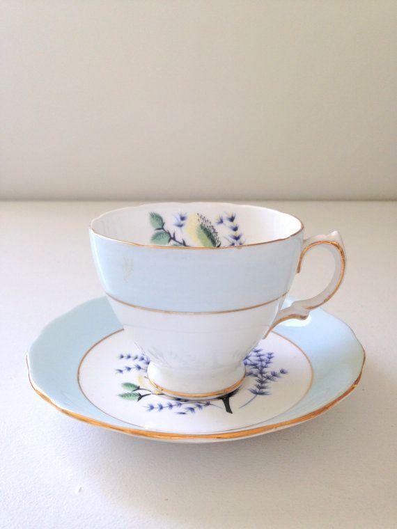 Vintage English Colclough Bone China Tea Cup by MariasFarmhouse, $49.00