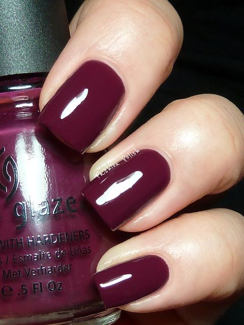 45 best maroon/mauve/burgundy. images on Pinterest | Nail colors ...