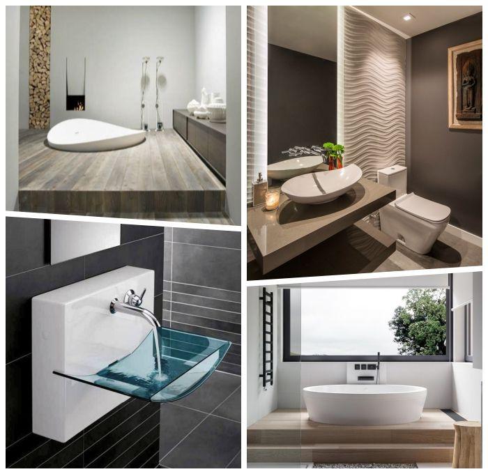 Deko Fur Badezimmer Designer Mobel Badmobel Waschbecken Aus Glas Wandpaneel Spiegel Mit Beleuchtung Badeinrichtung In 2020 Badezimmer Deko Badezimmer Bad Einrichten