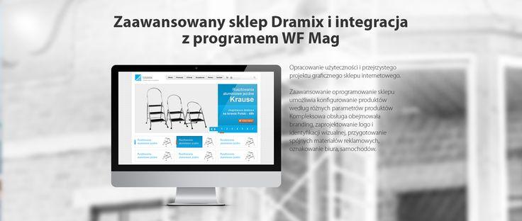 Zaawansowany sklep Dramix i integracja z programem WF Mag #esklep #migomedia #sklepinternetowy #e-sklep #sklep_internetowy