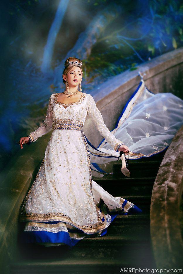 Cinderella | 9 Stunning Photographs That Reimagine Disney Princesses As Indian Brides