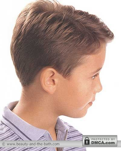 Boys Short Hairstyles And Haircuts | Side And Back Views Boys ...