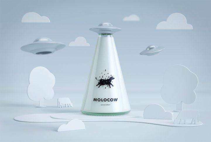 這款牛奶好喝到被UFO綁架了| TOPYS | 全球頂尖創意分享平台OPEN YOUR MIND | 作品