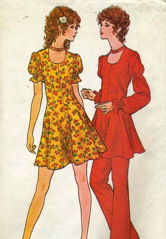 Vintage McCalls 3095 UNCUT Misses Disco Dress and by RomasMaison, $12.00