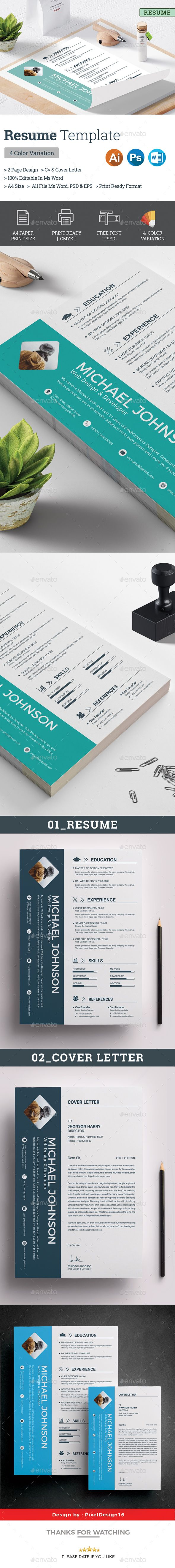 36 Best Cv Images On Pinterest