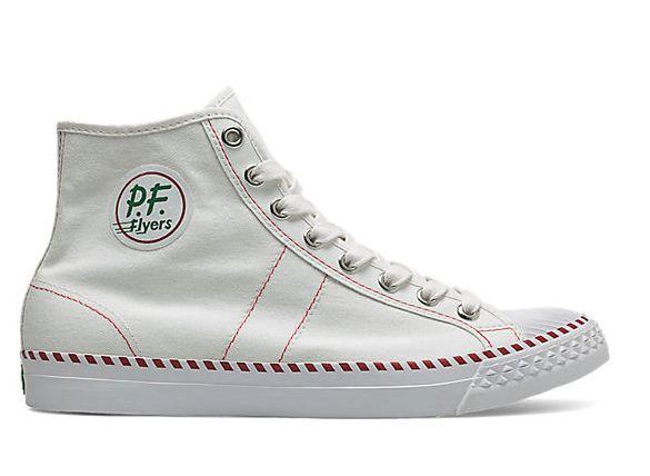 P.F. Flyers - White Rambler Hi Sneaker