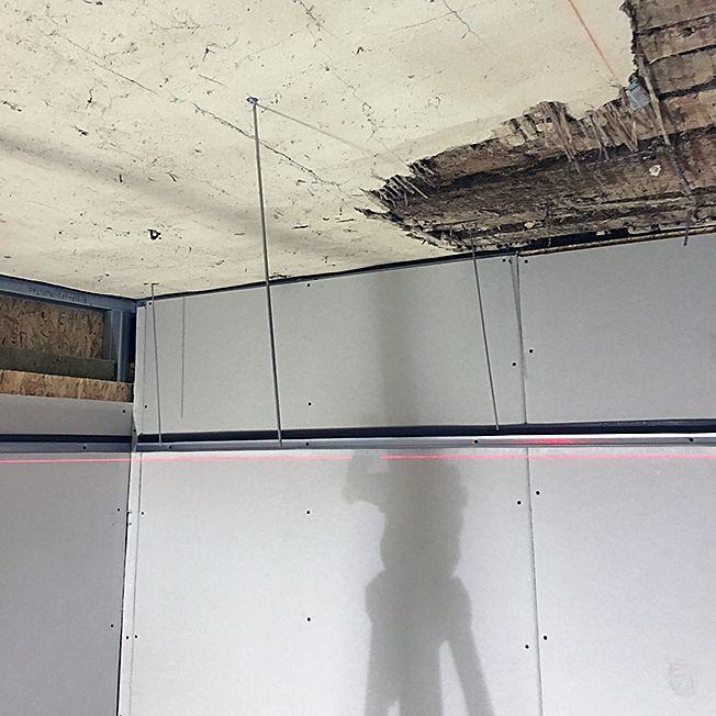 Projekt Abgehangte Gipskarton Decke Dann Wollen Wir Mal Gipskarton Decke Decke Detail