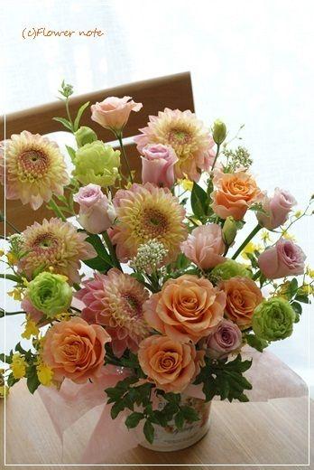 Flower noteのHP http://flowernote.net/ Flowernoteのギャラリーはこちら 横浜・上大岡「小さなお花の教室」はこち…