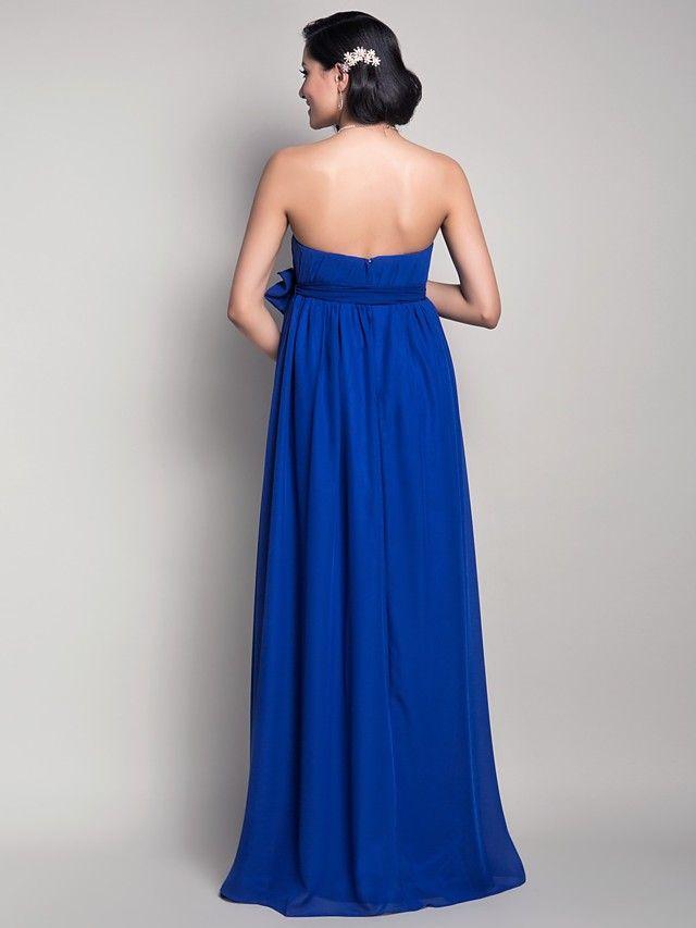 vestido de dama de honor vaina gasa de maternidad - Buscar con Google