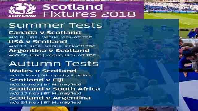 Do you know The Scottish Rugby Union has been announced Scotland Rugby 2018 Fixtures, Live Stream Online & TV Schedule? From here you will get Scotland's schedule of Six Nations Rugby Championship, Autumn Internationals 2018, and Summer Tour 2018 Kickoff time Date in USA UK and Scotland.