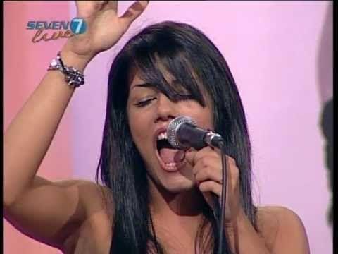 VANESSA BARRACO A SEVEN LIVE TV