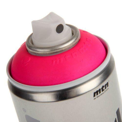 MTN 94 - Aerosol Art Spray Paint - 400ml - Fluorescent Colours - Supplied by Graff-City LTD (Fluorescent Pink): Amazon.co.uk: DIY & Tools