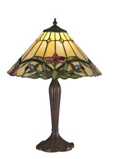 This table lamp light in the Sola family features a rich foliage with brightly colored floating flowers set against a honey background. This warm look is complimented with chestnut bronze hardware, guaranteed to bring natural essence to any room.  Z14-49TL