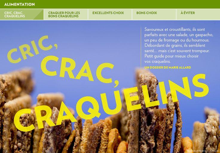Cric, crac, craquelins - La Presse+