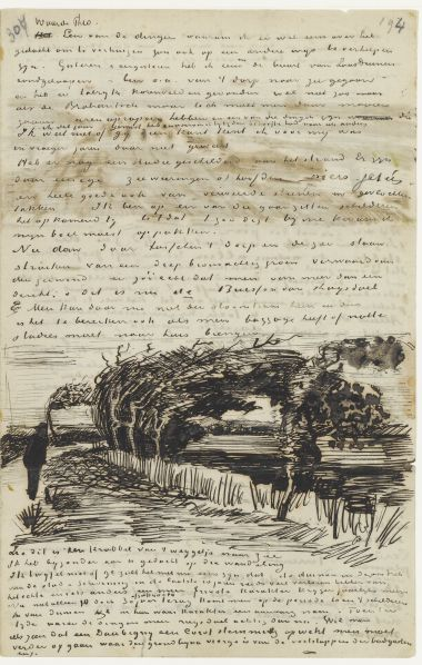 Letter from Vincent van Gogh toTheo van Gogh  Date: The Hague, Sunday, 29 and Monday, 30 July 1883