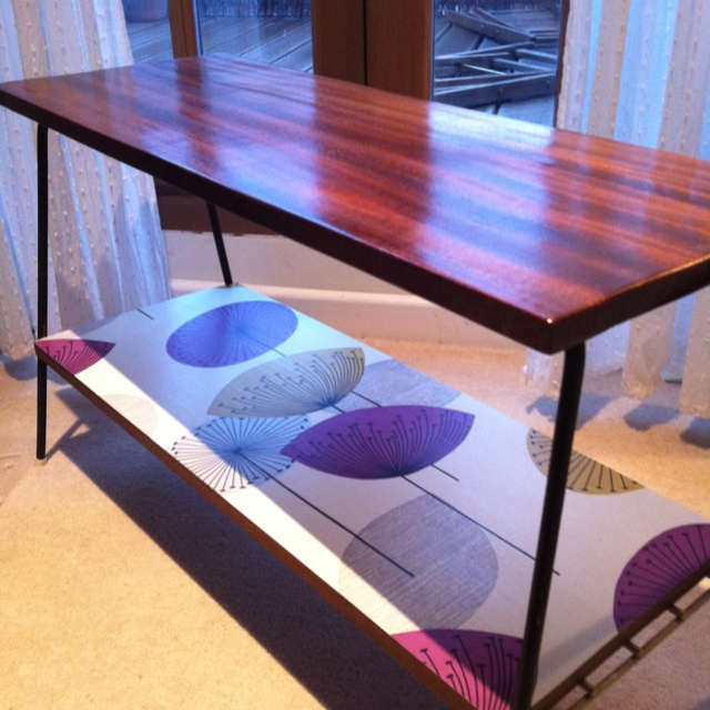 diy sanderson dandelion wallpaper paste varnish. Black Bedroom Furniture Sets. Home Design Ideas