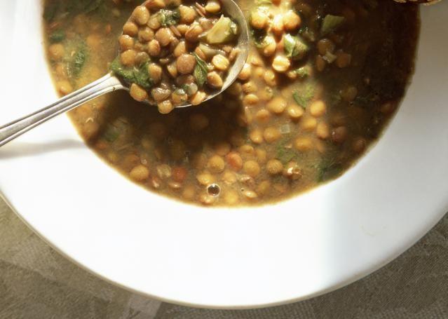 Crock pot Lentil Soup Set it and Forget it Vegetarian Crockpot Lentil Soup: Bill Boch / Getty Images