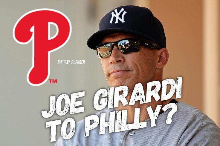 Would you guys want Joe Girardi as the next Phillies manager?  #Phandemonium #Phillies #Baseball #MLB #PhilliesGame #Eagles #FlyEaglesFly #NFL #Football #Philadelphia #PhiladelphiaEagles #BleedGreen #NFCEast #CarsonWentz #Wentz #EaglesNation #AO1 @philadelphiaeagles @phillies @yankees