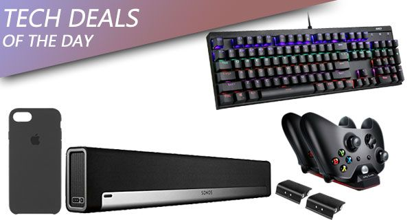 Tech Deals: SONOS Sound Bar With $88 Freebies, Xbox Charging Station, $5 Off Apple iPhone 7 Case, More Check more at http://technews4u.net/tech-deals-sonos-sound-bar-with-88-freebies-xbox-charging-station-5-off-apple-iphone-7-case-more/