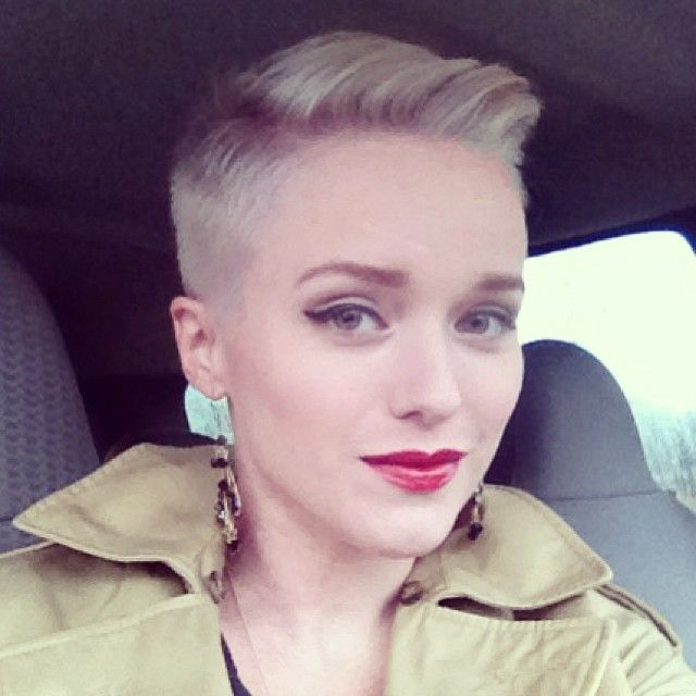 Why would a woman want short hair. This is amazing!
