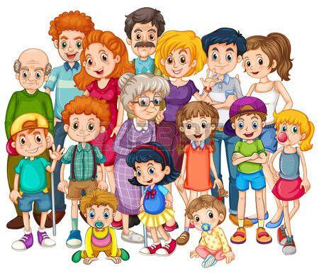 abuela madre e hija: Miembros de la familia felices juntos en una sola toma