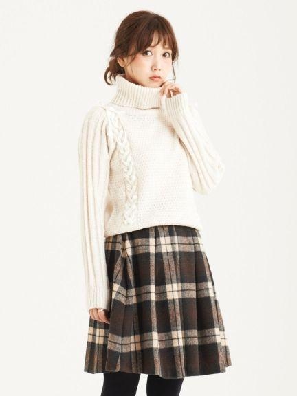 Falda y sweater