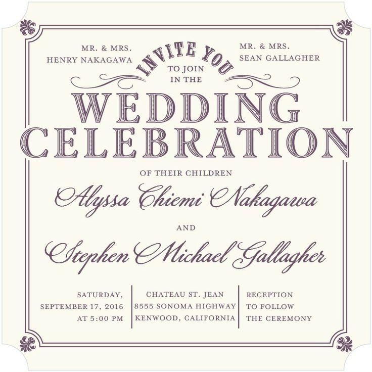 33 best Wedding Paper Divas images on Pinterest   Wedding paper ...