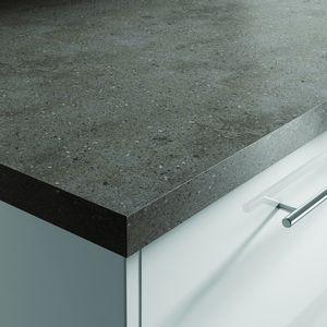 Lava Rock Corian Worktop | Benchmarx Kitchens & Joinery