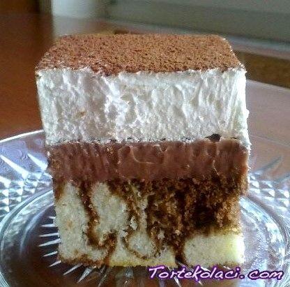 Dalmatiner kolač - Recept sa Slikom | TorteKolaci.com