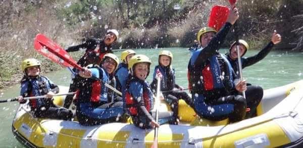 Iniciación al Rafting en Alcalá del Júcar (Albacete) con Turiaventura