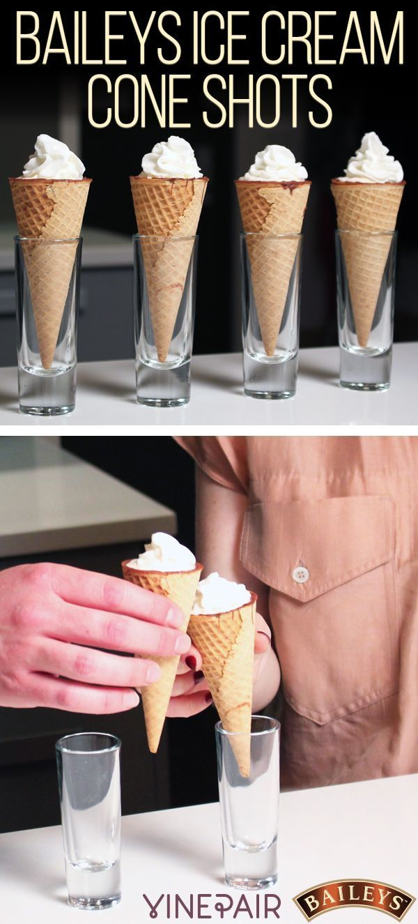Nothing says it's time to indulge quite like shots in an ice cream cone. Check out our deliciously indulgent recipe for Baileys Ice Cream Cone Shots.