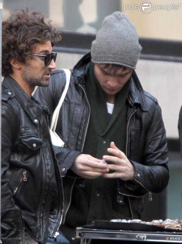 Эд Вествик на улицах Нью-Йорка