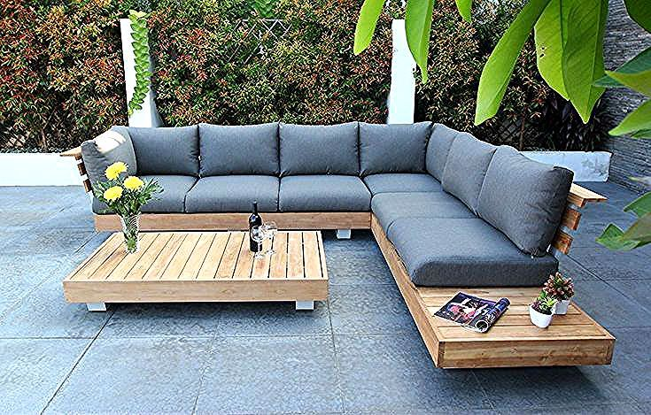 Ensembles De Salon In 2020 Patio Couch Gray Patio Furniture Outdoor Couch