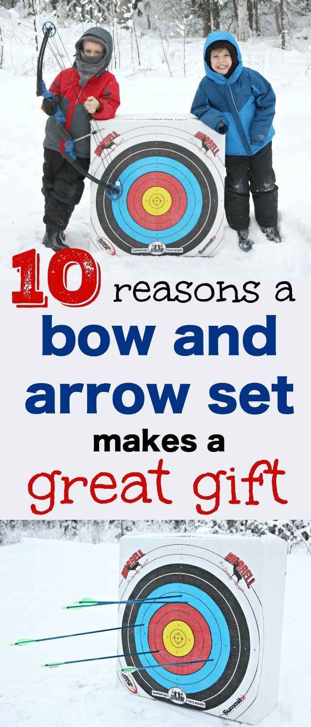 I want to point our reasons why owning a bow and arrow set is actually safe and so much fun for your family!