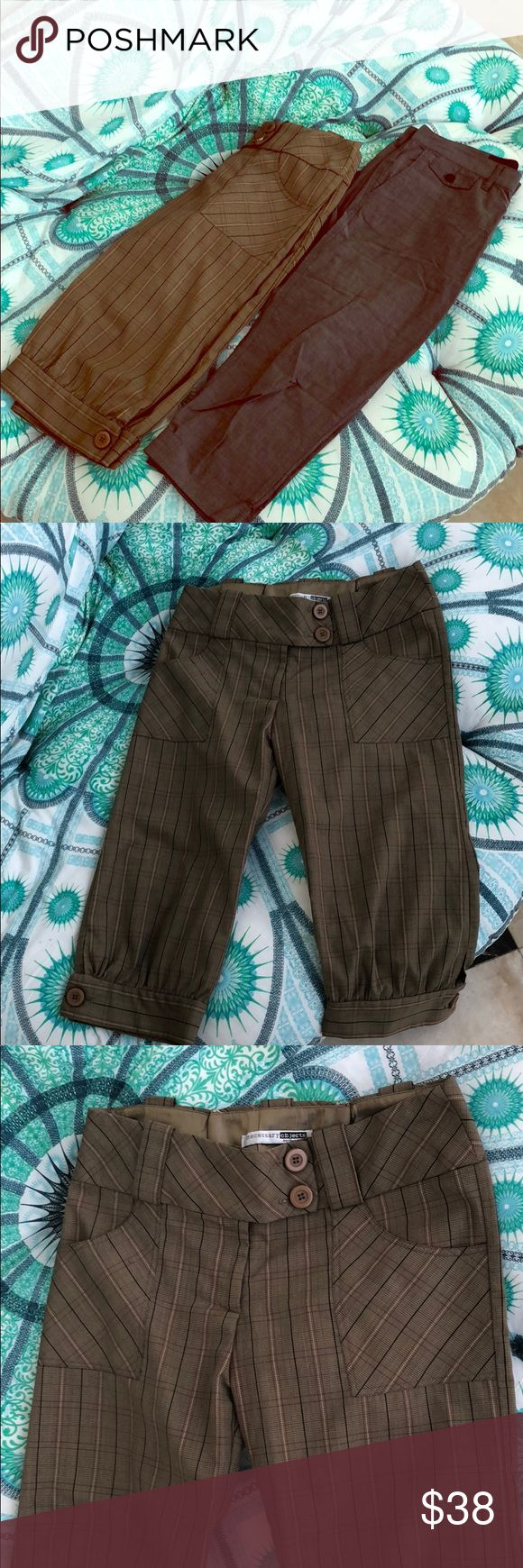 Bundle - Riding Pants - Comfy & Trendy Bundle - Riding Pants - Comfy & Trendy Linen  Buy 1 or both! 15% Bundle Discount applies   Great Preloved Condition! Barely worn   Both Size 4 Measurements available upon request Pants Trousers