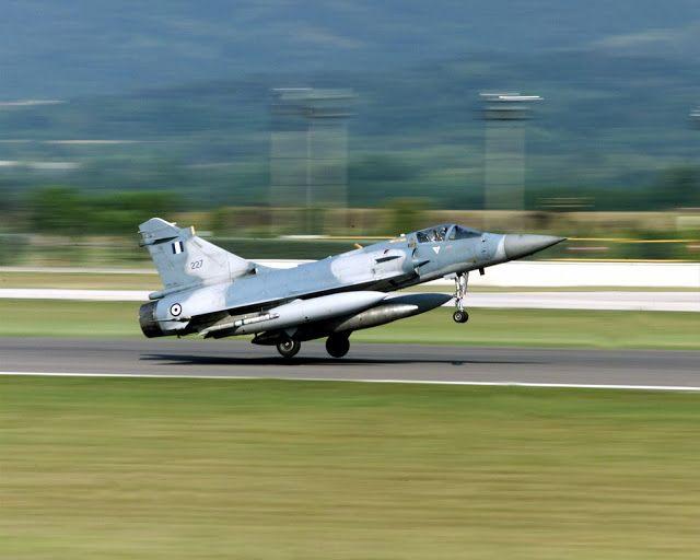 Hellenic Air Force Mirage 2000EG
