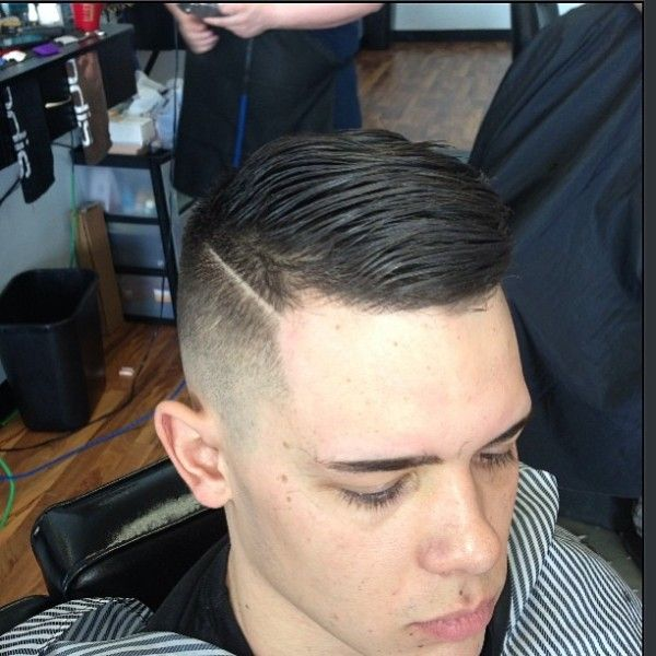 Comb over, High fade and Signs on Pinterest