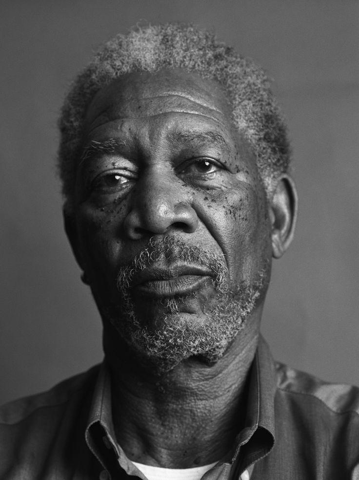 Morgan Freeman by Mark Abrahams