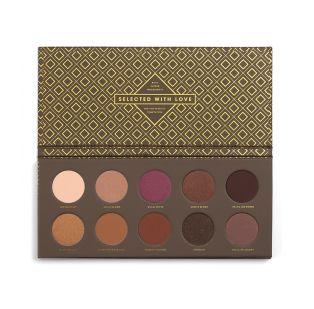 22€ MAQUILLALIA 1ªªªªªZOEVA - Paleta de sombras de ojos Cocoa Blend
