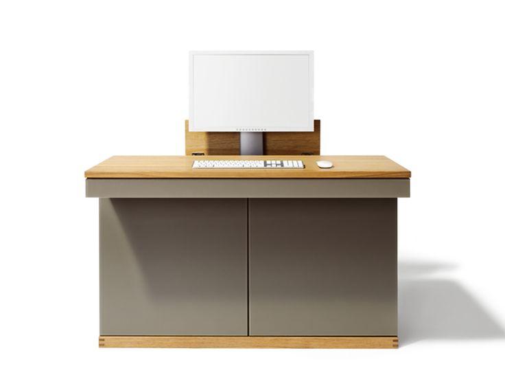 Meuble ordinateur en bois massif CUBUS | Meuble ordinateur - TEAM 7 Natürlich Wohnen