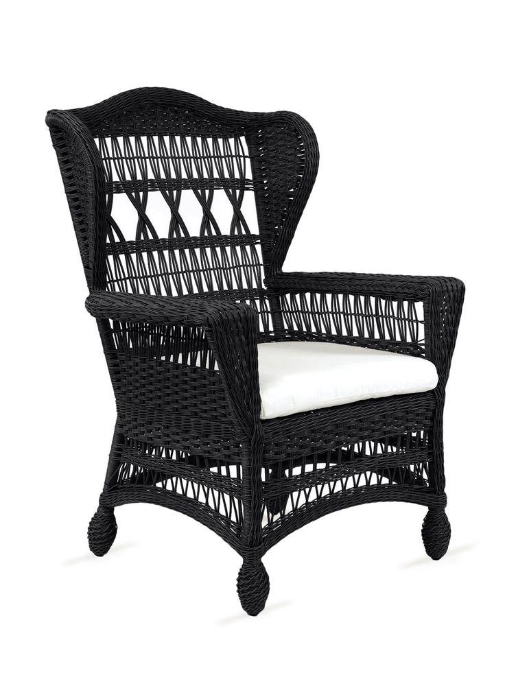 Wonderful I Love The Idea Of Black Wicker Patio Furniture