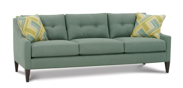 This Sofa In Either White Or Gray Decorate Living Room